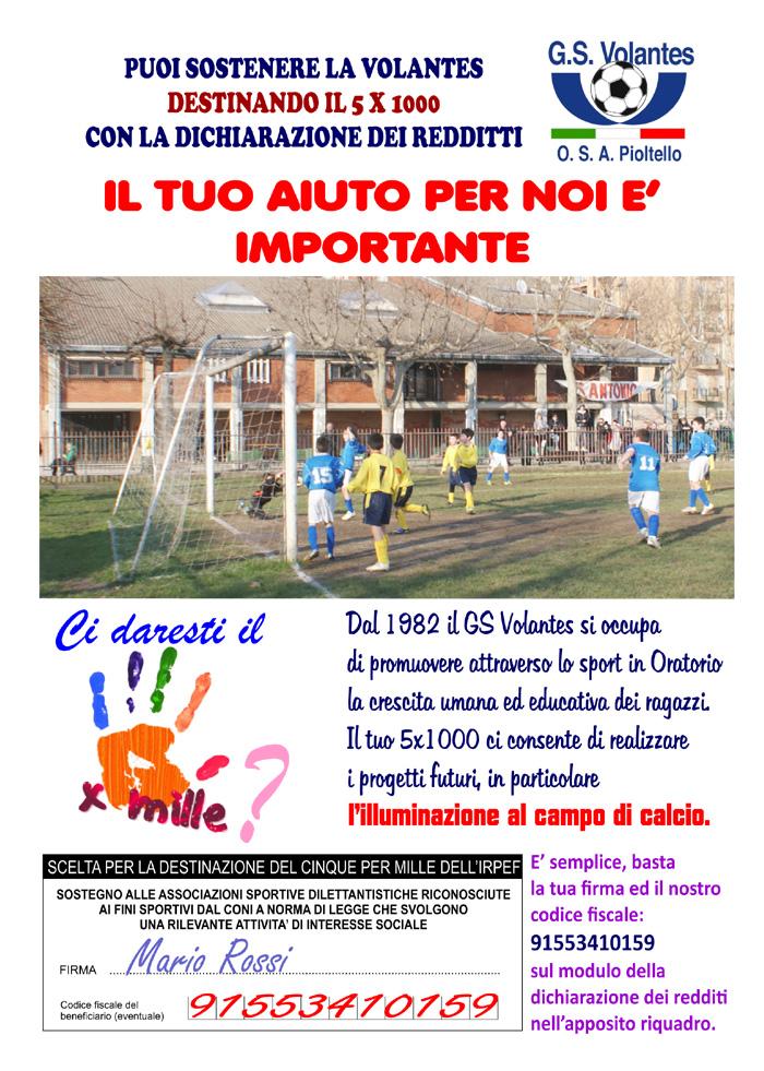 GS Volantes OSA – GS VOLANTES OSA – giocare a pallone per